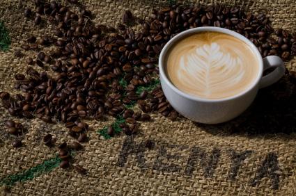 Classic kaffe använder flera typer av originalbönor i sina bönbladningar
