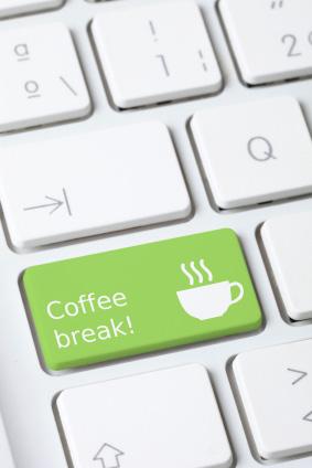 Det är ont om kaffeforum för virtuella kaffepauser, såvida du inte kan engelska