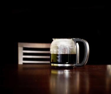Kaffekanna av glas för elbryggare