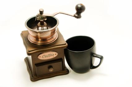 Antika kaffekvarnar är efterfrågade - och dyra